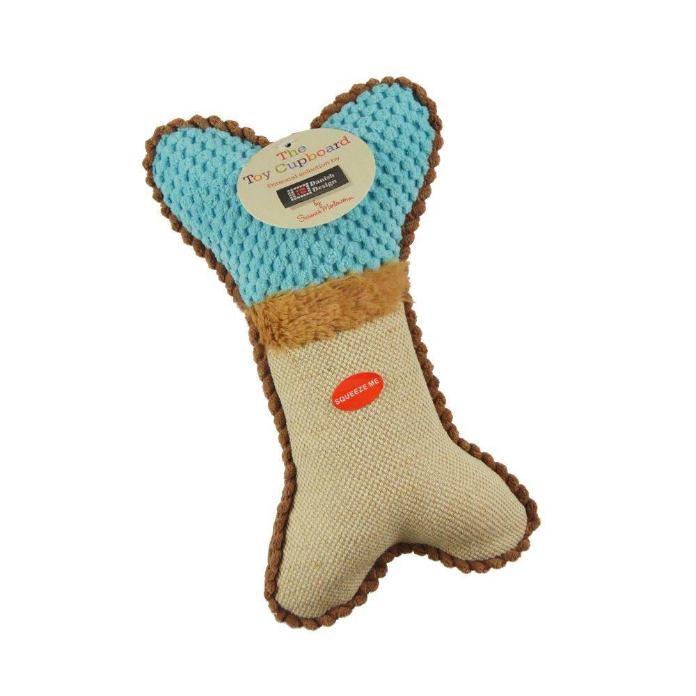 Plush Bone Dog Toy