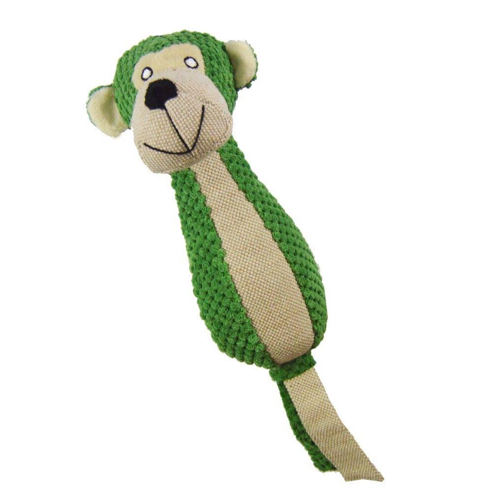 Plush Monkey Dog Toy