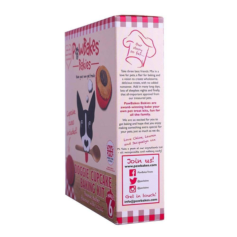 doggie cupcake baking kit