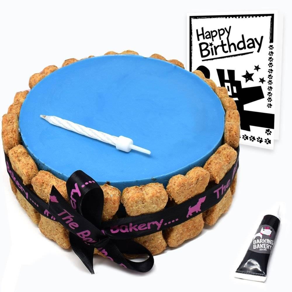 Blue Dog Birthday Cake