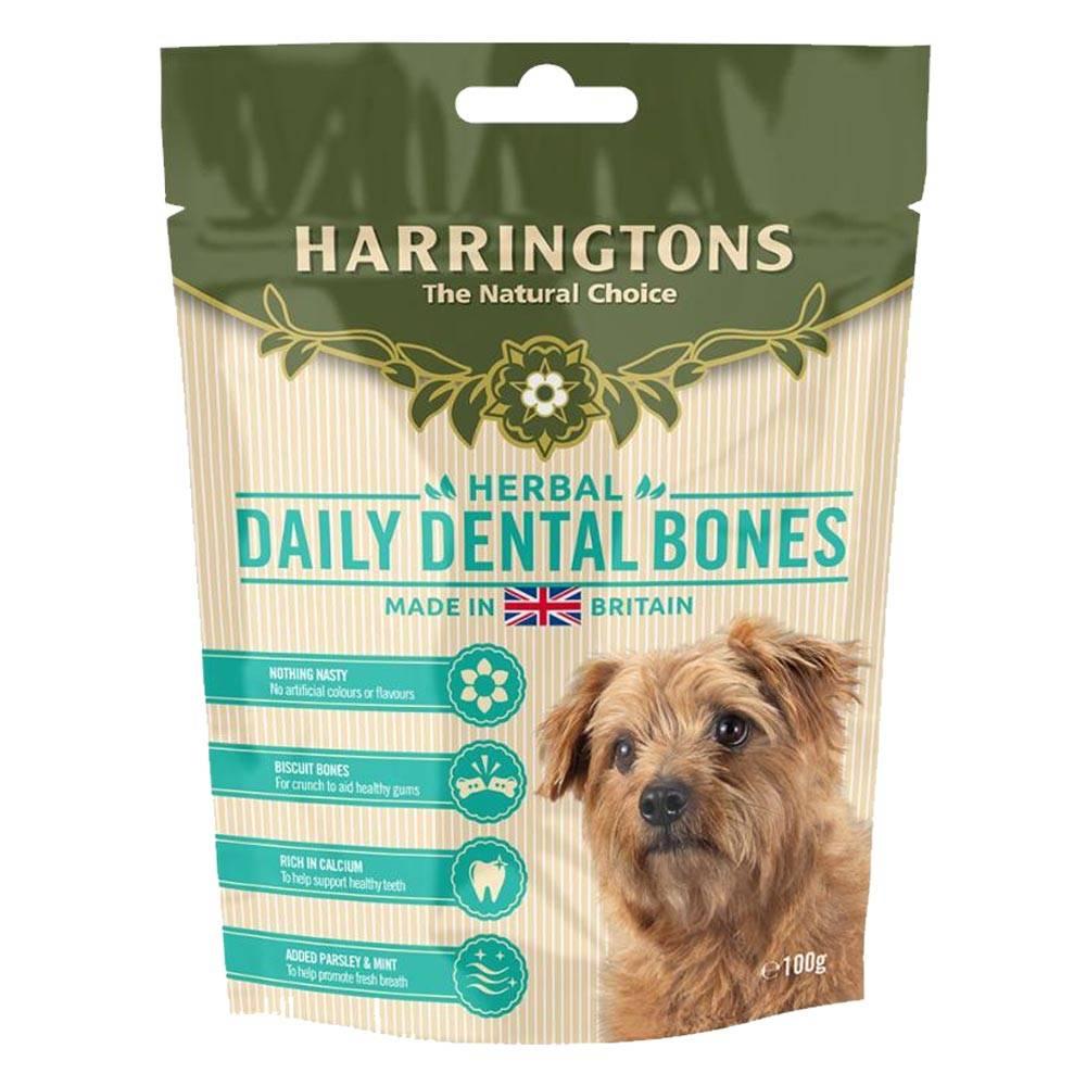 Harringtons Herbal Daily Dental Bones