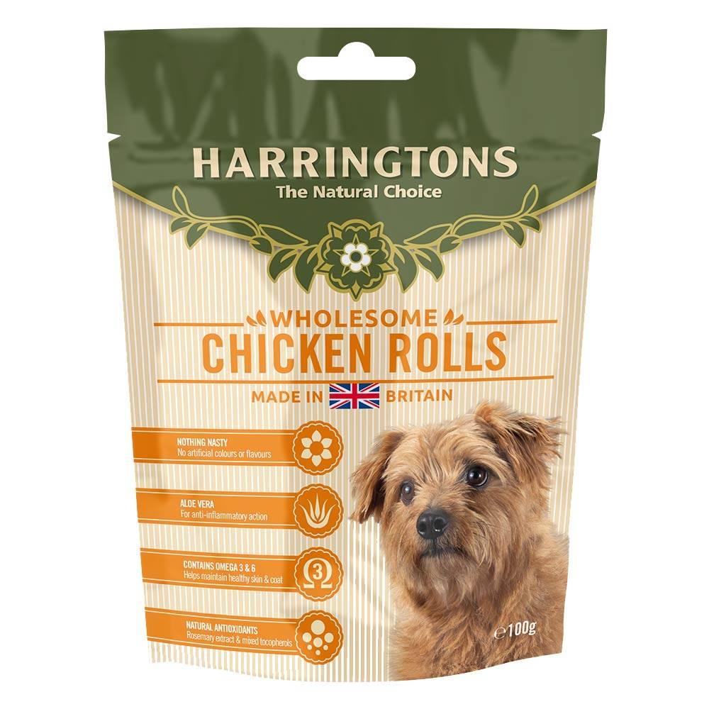 Harringtons Wholesome Chicken Roll Dog Treats
