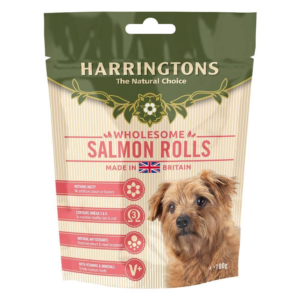 Harringtons Wholesome Salmon Roll Dog Treats