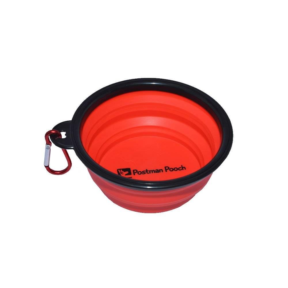Portable Travel Dog Bowl by Postman Pooch