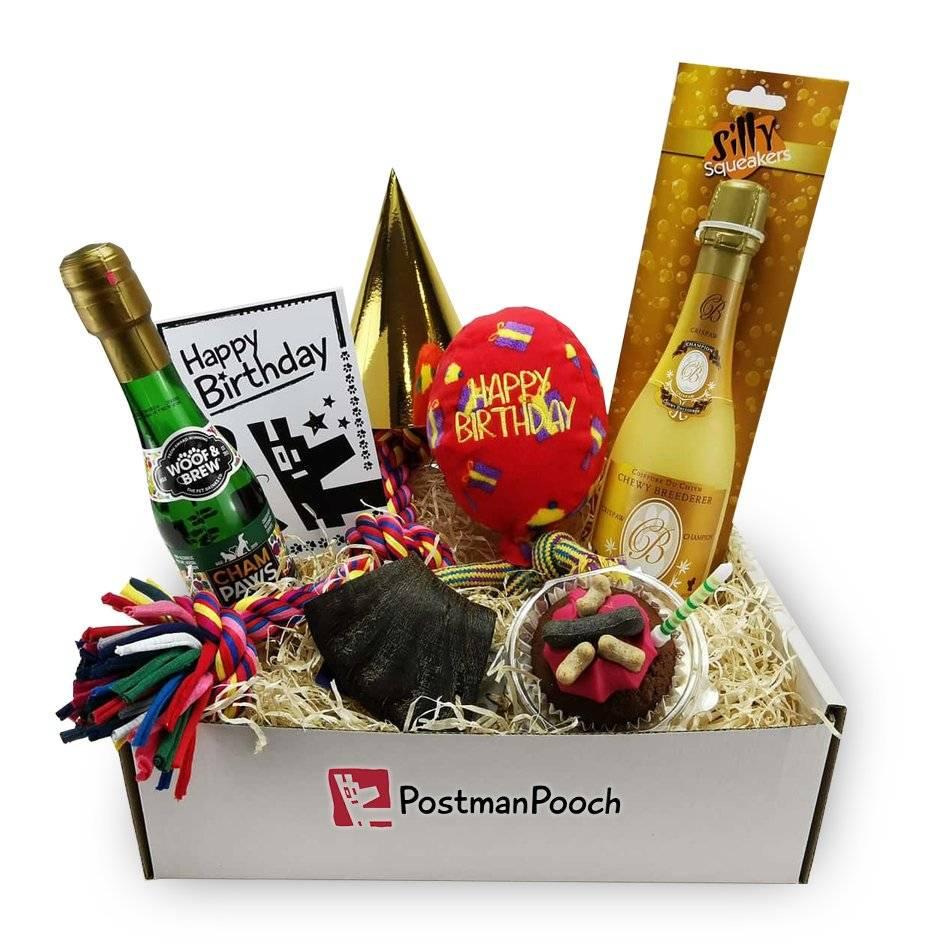 Celebration dog birthday box