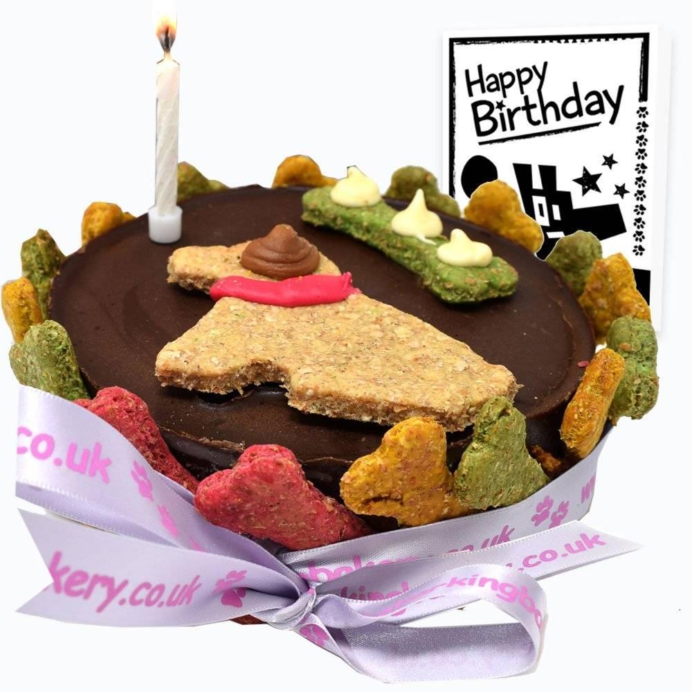 Luxury Dog Birthday Cake