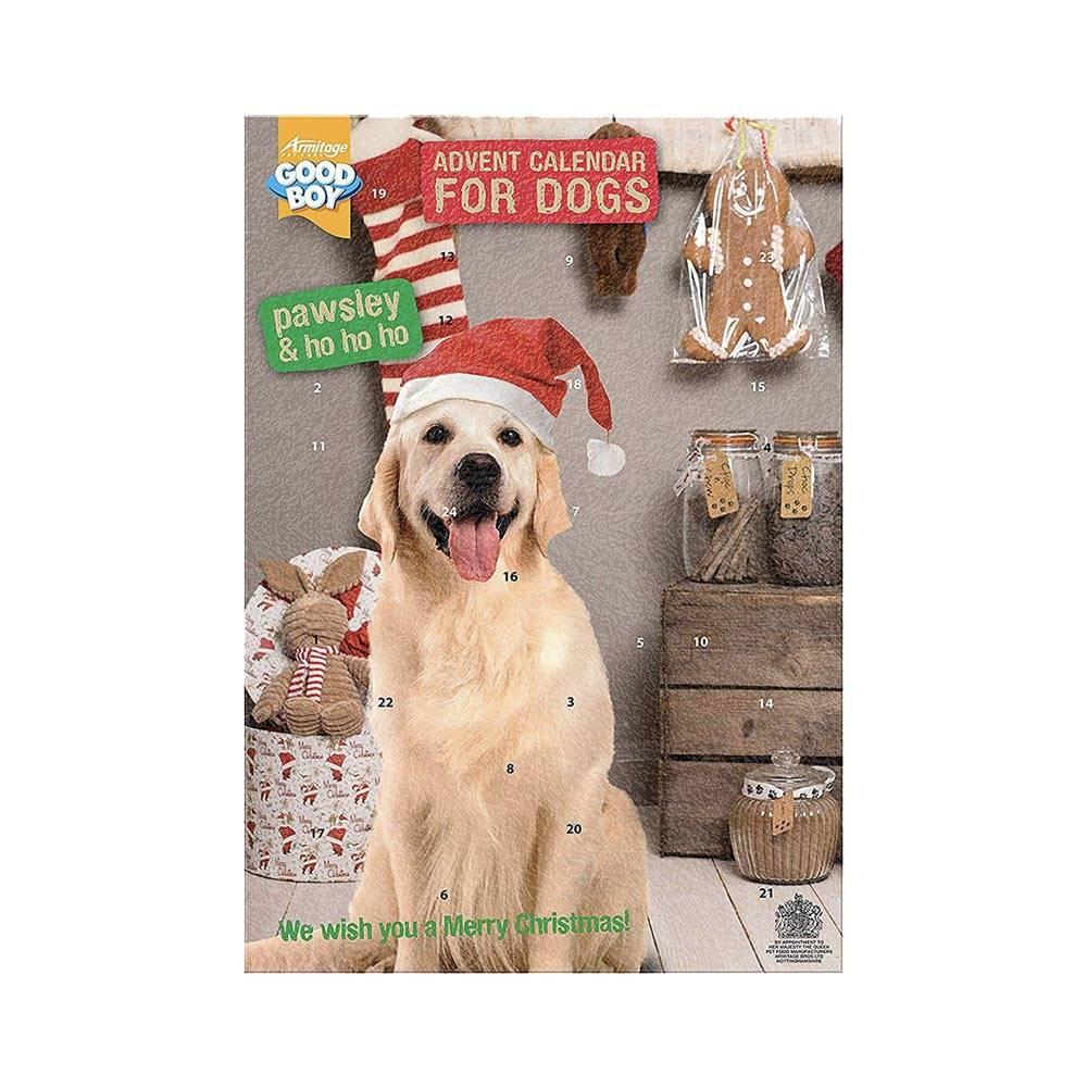 Good Boy Christmas Advent Calendar for Dogs