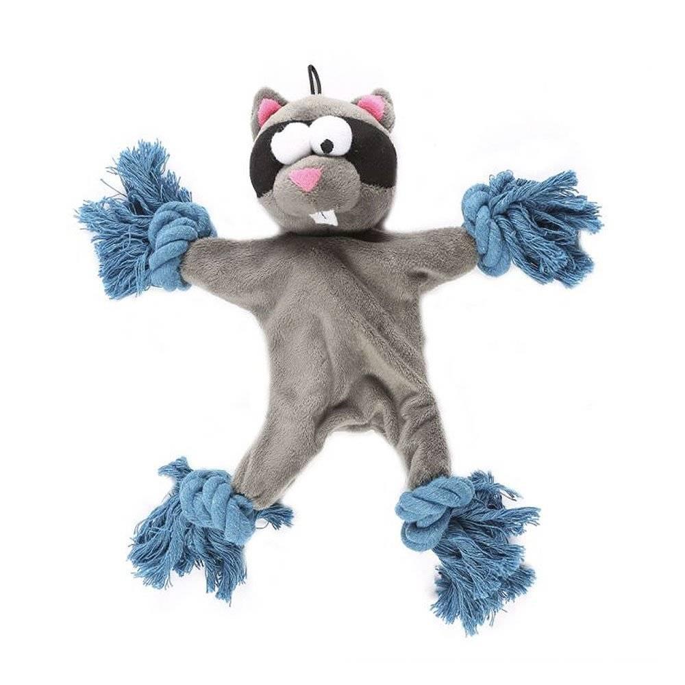 Freaky Ropee Raccoon - Tugger Dog Toy